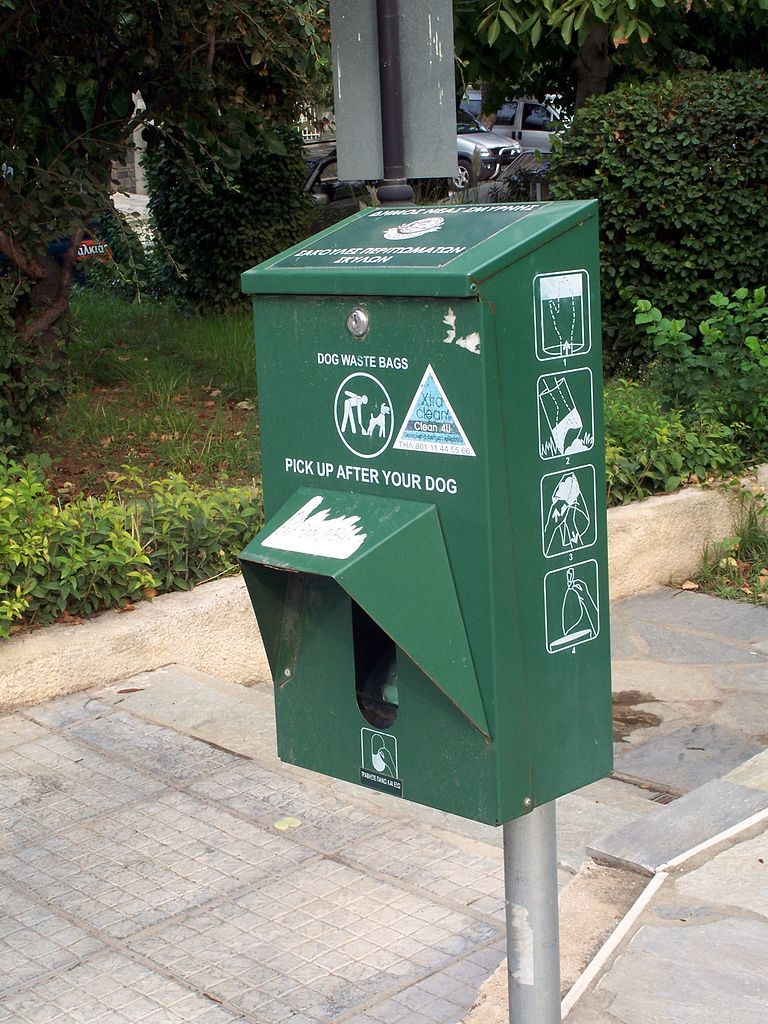Free Dog Waste Signs