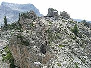Italian Positions on Cinque Torri summit today