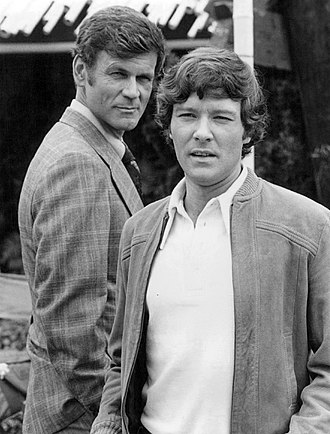Michael Anderson Jr. - Don Murray and Michael Anderson, Jr. in an episode of Police Story (1975)