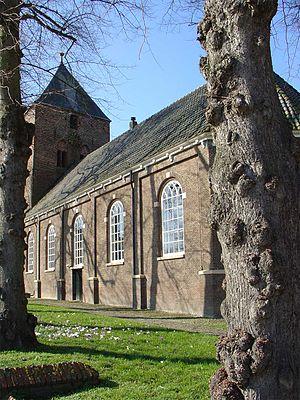 Borger, Netherlands - De dorpskerk van Borger