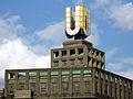"""""""Dortmunder U"""" auf dem Dach des ehemaligen Gär- und Lagerhochhauses der Union-Brauerei"""