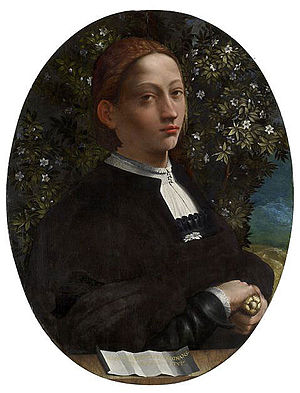 Possibly portrait of Lucrezia Borgia