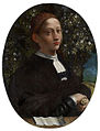 Овальный: Доссо Досси, «Портрет Лукреции Борджиа (?)», ок. 1518