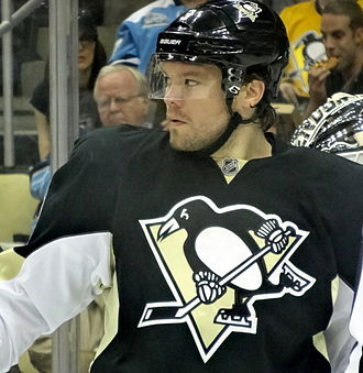 Douglas Murray (ice hockey) - With the Penguins during the 2013 playoffs.