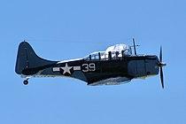Douglas SBD-5 Dauntless - Chino Airshow 2014 (14159145537).jpg