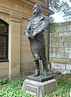 Statue of Governor Macquarie located at The Mint, Sydney