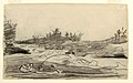 Drawing, Fishermen in the Rapids, probably 1897 (CH 18174605).jpg