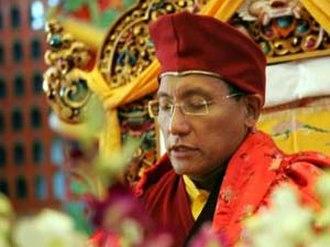 Druk White Lotus School - The Gyalwang Drukpa, the spiritual leader of Ladakh