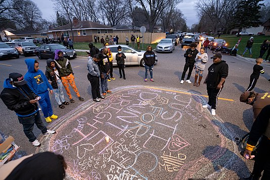 Duante Wright protest, Brooklyn Center MN April 11, From WikimediaPhotos