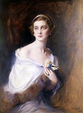Princess Marina of Greece and Denmark - Portrait by Philip de László, 1934