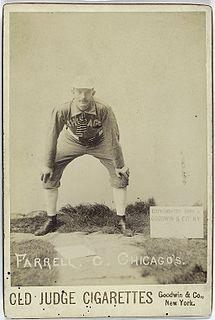 Duke Farrell Major League Baseball player