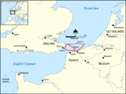 Dunkirk Evacuation shipping routes