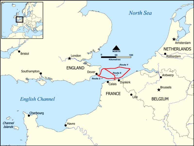 FileDunkirk Evacuation Shipping Routespng  Wikipedia