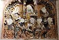 Duomo di utrecht, interno, rilievo quattrocentesco mutilato durante l'iconoclastia 02.jpg