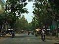 Duong pho Hùng vương, QL 30 . Hong ngu dong thap - panoramio.jpg