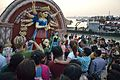 Durga Idol Immersion - Baja Kadamtala Ghat - Kolkata 2012-10-24 1810.JPG