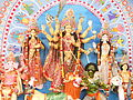 Durga Puja 2013 at Ramakrishna Mission in Dhaka 001.jpg