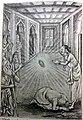 Durvasa falls at the feet of Ambarish and asks for pardon.jpg