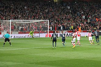 Dušan Tadić - Tadić scoring a penalty, his first goal for Southampton, as they defeated Arsenal in 2014