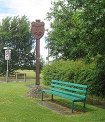 Duxford village sign.JPG