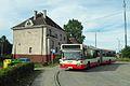 Dworzec Gdańsk Osowa i autobus Mercedes.JPG