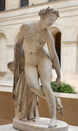 Eurydice - Charles-François Lebœuf, Dying Eurydice (1822), marble