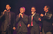Ernie Haase & Signature Sound at a concert in Apeldoorn (NL),12 February 2010.