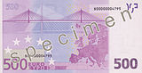 EUR 500 reverse (2002 issue)