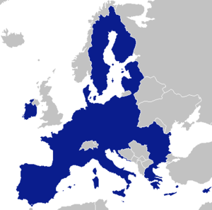 Federalisation of the European Union - Image: EU single entity