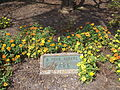 E Peck Greene Park sign among flowers.JPG