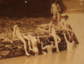 Eakins, Thomas (1844-1916) - 1883 - Eakin's art studens bathing 2.png