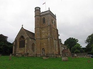 East Coker Village in Somerset, England