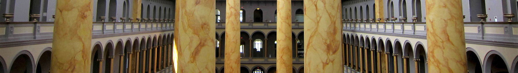Inside the National Building Museum