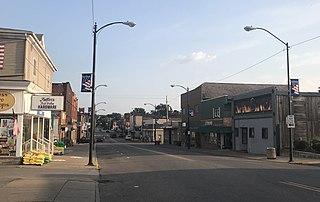 East Palestine, Ohio Village in Ohio, United States