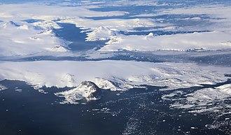 Sermersooq - East coast of Sermersooq, just south of 64°N