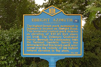 Ebright Azimuth - Elevation marker, August 2006