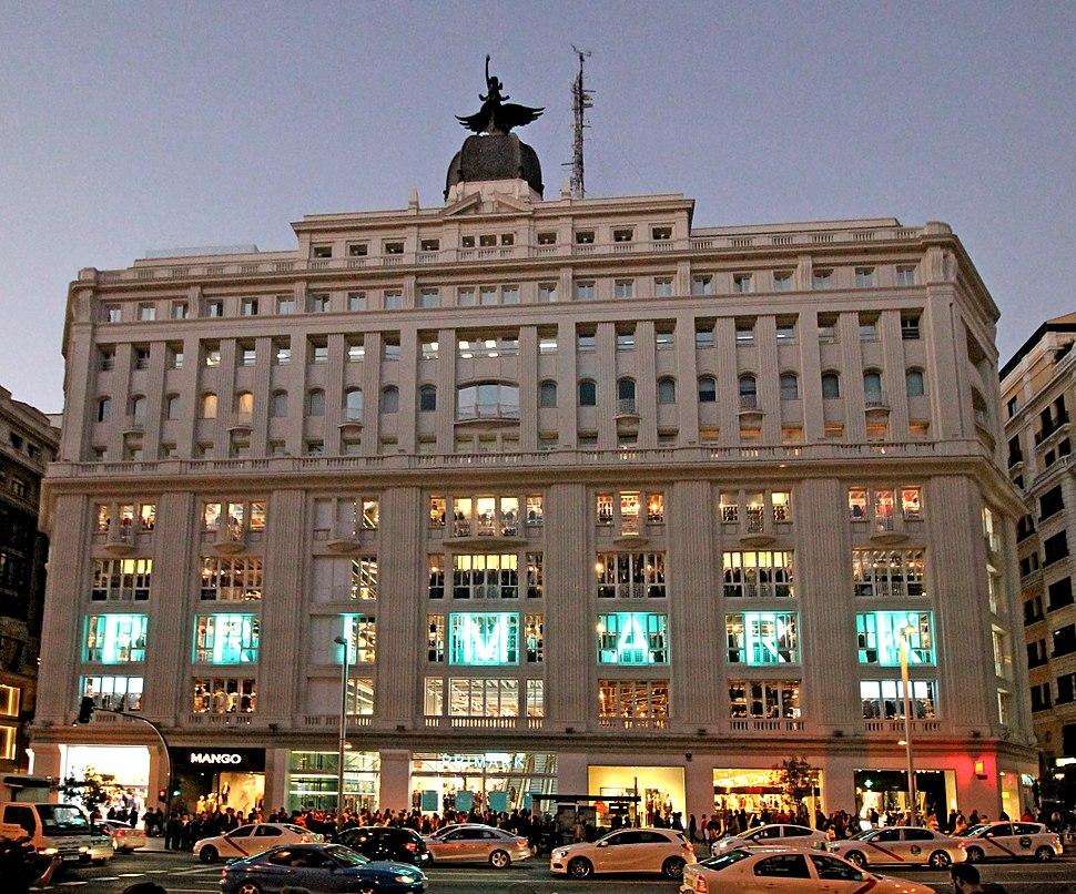 Edificio Madrid-París (Madrid) 08