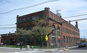 Laboratory building at Thomas Edison National Historical Park Edison labs Main St Lakeside Av jeh.jpg