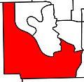 EdmontonSouthWest electoral district 2010.jpg
