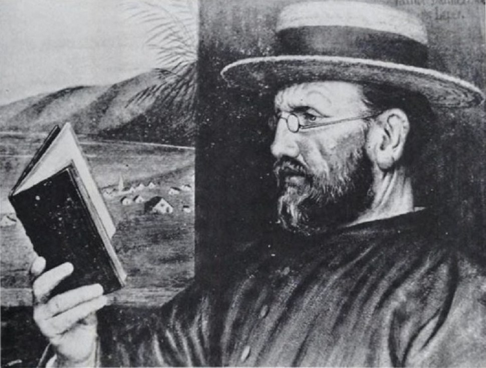 Edward Clifford – Damien in 1888