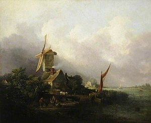 Edward Williams (painter) - Image: Edward Williams Squally Day on the Yare, Norfolk