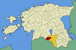Helme Parish within Valga County.