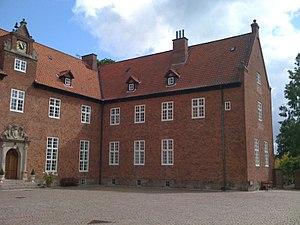 Egelund House - Image: Egelund Slot Slot courtyard