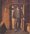 Egger-Lienz - Weihbrunn sprengender Bauer, 1919-20.jpeg