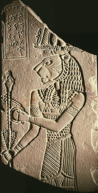 Egyptian - Votive Plaque of King Tanyidamani - Walters 22258.jpg