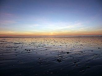 Eighty Mile Beach - Eighty Mile Beach at sunset