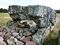 Ekornavallen (RAÄ-nr Hornborga 31-1) gångriften Girommen 2028.jpg