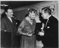 Eleanor Roosevelt, Nelson Rockefeller, and Chas Mayer in New York City - NARA - 196563.tif