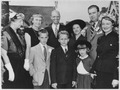 Eleanor Roosevelt with Anna, James, and John Roosevelt and Roosevelt grandchildren - NARA - 196358.tif