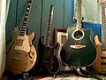Electric guitars, SpaceshipCabaret.jpg